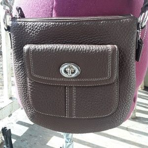 Authentic Coach Pebbled Leather CROSSBODY